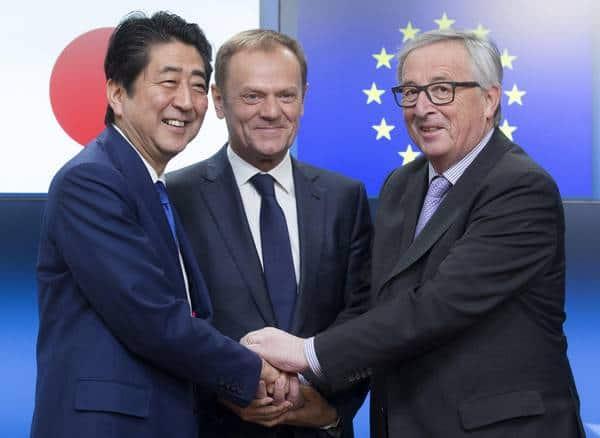 Accordo UE-Giappone: un messaggio forte e chiaro