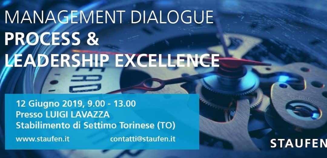 "MANAGEMENT DIALOGUE:"" PROCESS & LEADERSHIP EXCELLENCE"