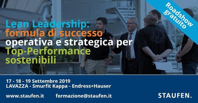 LEAN LEADERSHIP: FORMULA DI SUCCESSO OPERATIVA E STRATEGICA PER TOP PERFORMANCE SOSTENIBILI